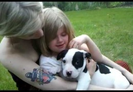 Little Girl Is Overcome With Emotion Over Surprise Puppy